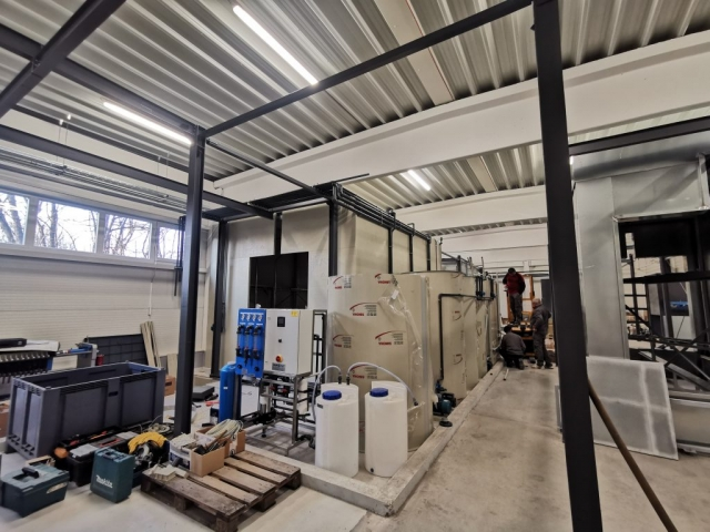 Spray-disinfection cabin and powder coating cabin szoro zsirtalanito kabin porfestes keviplast